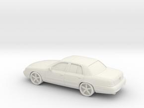 1/87 2003 Mercury Marauder in White Natural Versatile Plastic