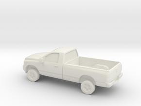 1/87 2006 Dodge Ram Single Cab in White Natural Versatile Plastic