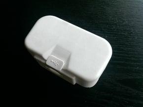 "DJI Phantom 1.5 Battery door  ""theONE""  BIG in White Processed Versatile Plastic"
