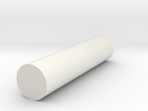 Sprocket Core II in White Natural Versatile Plastic