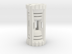 Sprocket Core I in White Natural Versatile Plastic