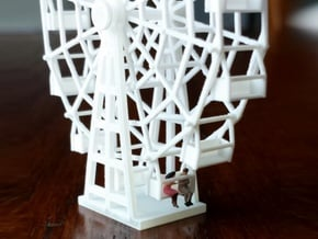 Ferris Wheel - Zscale in Smooth Fine Detail Plastic