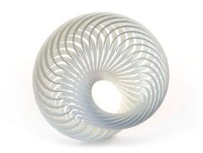 Mobius Nautilus in White Natural Versatile Plastic