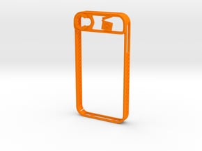 IPhone 4/4S in Orange Processed Versatile Plastic