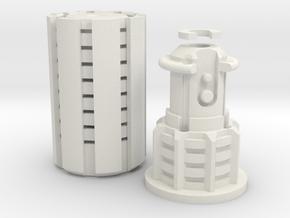 Salvage Bladeplug in White Natural Versatile Plastic
