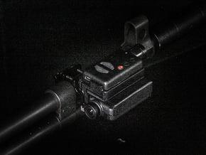 Mobius 2X Camera Stacked Rail Mount Right in Black Natural Versatile Plastic