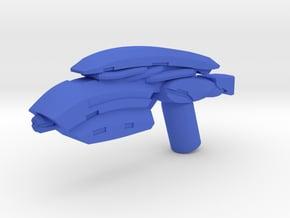Plasma Assault Rifle  in Blue Processed Versatile Plastic