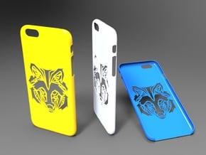 Iphone 6 Wolf Head case in White Natural Versatile Plastic