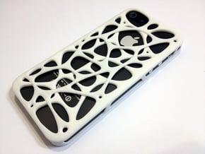 iPhone 5/5S case - Cell 2  in Blue Processed Versatile Plastic