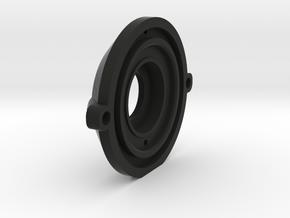 CS-mount (security camera lens) P8079HP Adapter in Black Natural Versatile Plastic