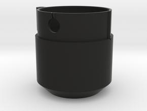 Nikon F-mount Cascade Tube Adapter Flange in Black Natural Versatile Plastic