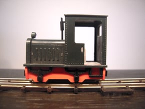 Egger Bahn 101 replacement chassis in Smooth Fine Detail Plastic