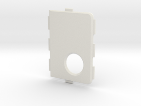MarkV Cover - Standard in White Natural Versatile Plastic