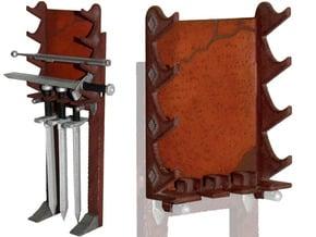 MOTUC Swords Rack in White Processed Versatile Plastic