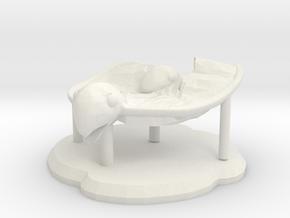 Paradise Figure in White Natural Versatile Plastic