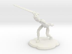 Sentient Armor in White Natural Versatile Plastic