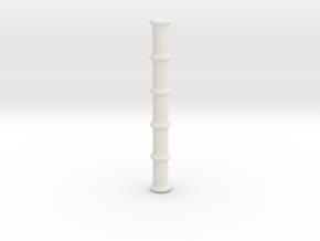 Bamboo Staff V1.1 in White Natural Versatile Plastic
