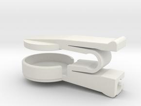 Finger Clip For Pulse Sensor SEN-11574 in White Natural Versatile Plastic