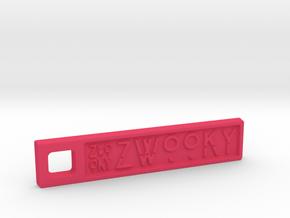 ZWOOKY Style 02 Sample in Pink Processed Versatile Plastic