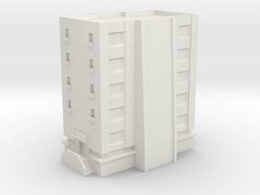 Apartment  in White Natural Versatile Plastic