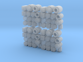1/64 Container Set in Smooth Fine Detail Plastic