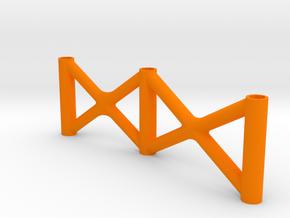 Super SuDu front Brace in Orange Processed Versatile Plastic