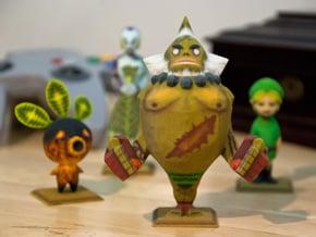 Goron Statue from Zelda Majora's Mask in Full Color Sandstone
