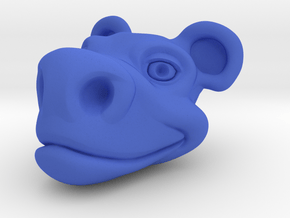 Cartoon Pencil Head in Blue Processed Versatile Plastic