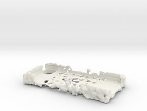 MQ Mark1 IPhone5 Cut in White Natural Versatile Plastic