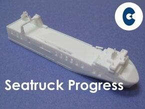 MV Seatruck Progress (1:1200) in White Natural Versatile Plastic