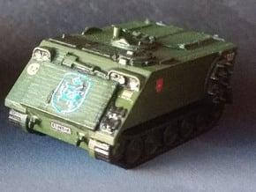 M-106 Porta mortero escala N in Smooth Fine Detail Plastic