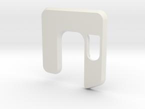 Box Mod Minigun Cover in White Natural Versatile Plastic