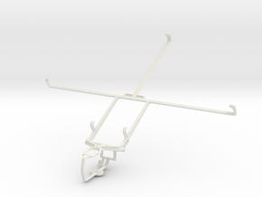 Controller mount for PS3 & Prestigio MultiPad 10.1 in White Natural Versatile Plastic