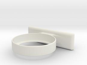 Amiibo Wall Display in White Natural Versatile Plastic