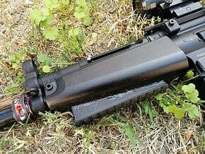 MP5 Handguard Picatinny Rail in Black Natural Versatile Plastic