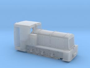 Französische Feldbahnlok Billard T100   1:76 in Smooth Fine Detail Plastic