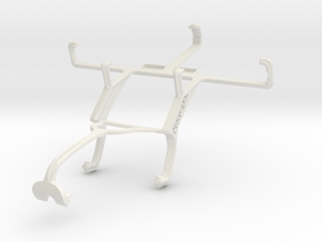 Controller mount for Xbox 360 & Samsung Galaxy S D in White Natural Versatile Plastic