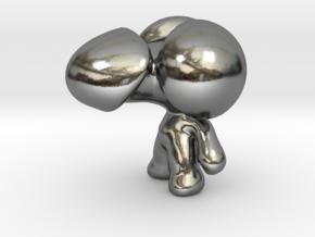 MrDick Mini in Polished Silver