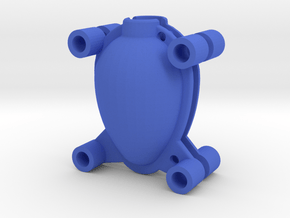 Egg Mold 1x45mm in Blue Processed Versatile Plastic