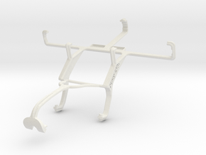Controller mount for Xbox 360 & Sony Xperia S in White Natural Versatile Plastic