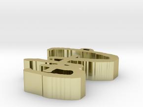 Small Small Zipper pull in White Natural Versatile Plastic