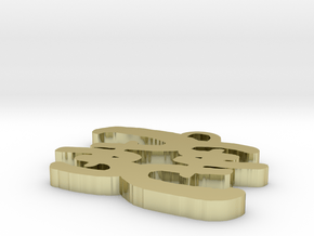 1 inch PB Flip in White Natural Versatile Plastic
