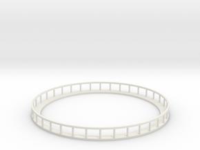 Walkway - Nscale in White Natural Versatile Plastic