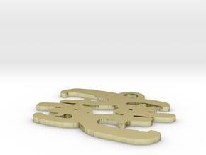 Flip PB 2 inch in White Natural Versatile Plastic