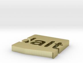logo_dalt_mag in White Natural Versatile Plastic