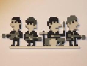 Beatles iotacons (Ed Sullivan Show) in Full Color Sandstone
