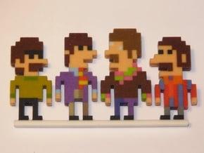Beatles iotacons (Yellow Submarine) in Full Color Sandstone