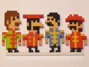 Beatles iotacons (Sgt. Pepper) in Full Color Sandstone