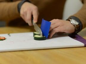 FingerArmor in Blue Processed Versatile Plastic