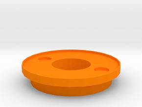 IGOR Dual Circle Barrel Tip With Lip in Orange Processed Versatile Plastic